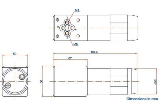 схема мультипликатора (усилителя) давления серии MP-C - Промснаб СПб