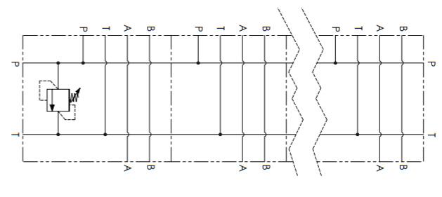 Гидравлическая схема манифольда Oleoweb BM-RV