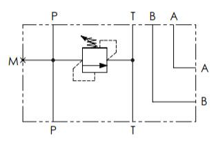 Гидравлическая схема манифольда Oleoweb BP3