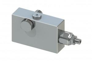 Гидрозамок с предохранительными клапанами для монтажа на цилиндр - VBCB