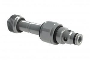 Двухходовой ввертной клапанный распределитель с электроуправлением - EV7