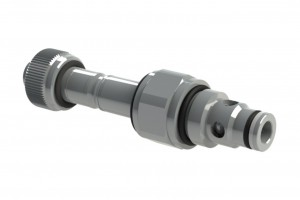 Двухходовой ввертной клапанный распределитель с электроуправлением - EV8