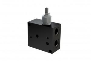 Монтажная алюминевая плита под два и более клапана CETOP3 - BC3