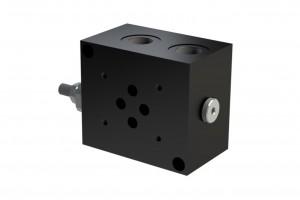 Монтажная алюминевая плита под один клапан CETOP3 - BS3