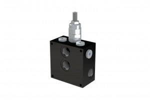 Монтажная алюминевая плита под один клапан CETOP5 - BS5