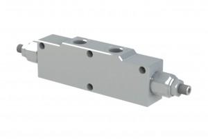 Сдвоенный гидрозамок с предохранительными клапанами - VBCD