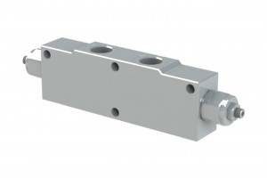 Сдвоенный гидрозамок с предохранительными клапанами - VBCD340