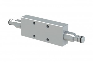 Сдвоенный гидрозамок с предохранительными клапанами - VBCM