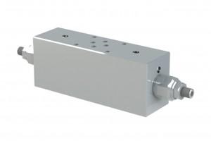 Сдвоенный гидрозамок с предохранительным клапаном - VBCS