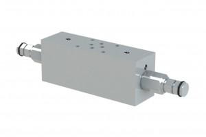 Сдвоенный гидрозамок с предохранительным клапаном - VBCT