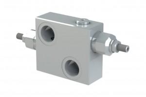 Сдвоенный предохранительный регулируемый клапан - DCV