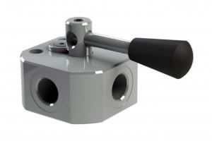 Трёхходовой дивертор высокого давления - DDFA3