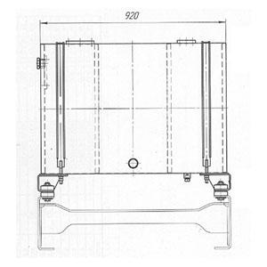 чертеж гидробака для грузовой машины