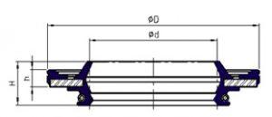 чертеж уплотнения svy - промснаб спб