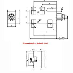 схема тормозного клапана oleoweb vbcl - промснаб спб