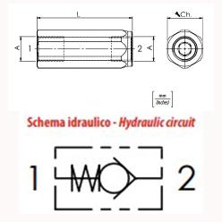 схема обратного клапана oleoweb vur - промснаб спб