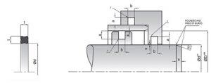 схема X-сечения кольца - промснаб спб