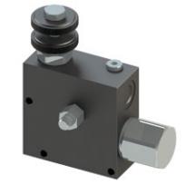 Трехлинейный регулятор потока со встроенным предохранительным клапаном VPT380VRV  - промснаб спб