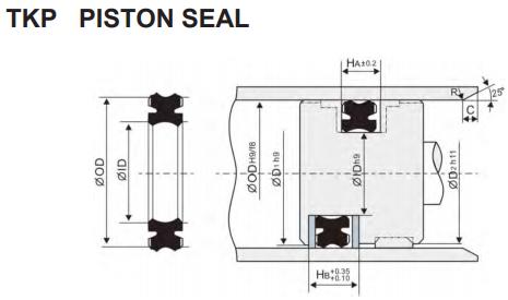 tkp piston seal - промснаб спб