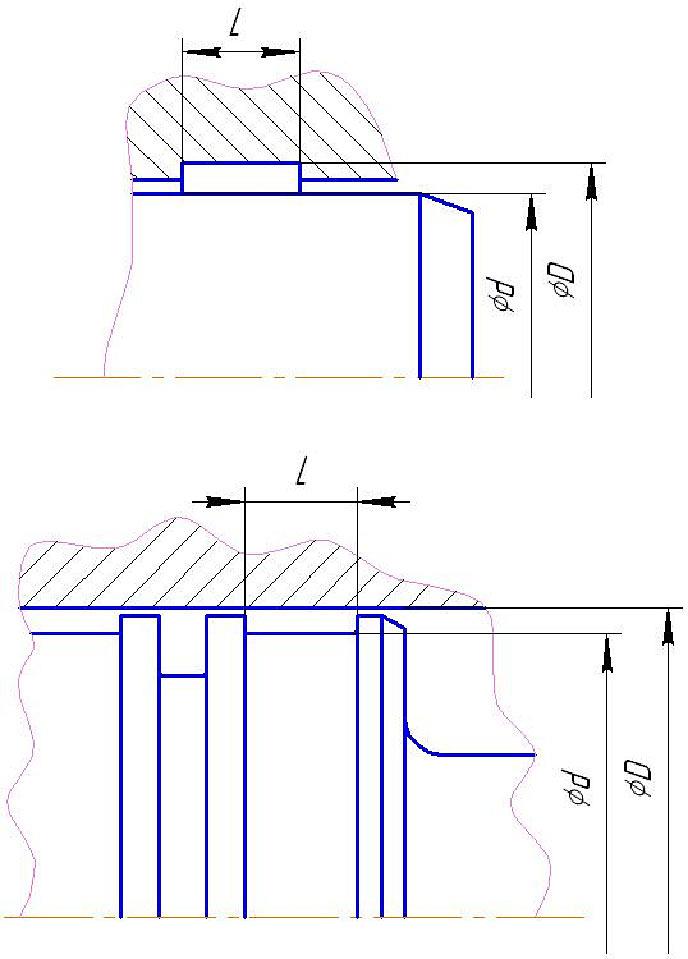 схема опорно-направляющие кольца afi-afe - промснаб спб