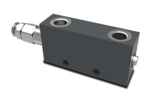 Сдвоенный гидрозамок с предохранительными клапанами VOSL/V1118 walvoil - промснаб спб