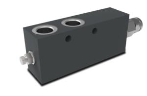 Сдвоенный гидрозамок с предохранительными клапанами VOSL/N1516 walvoil - промснаб спб