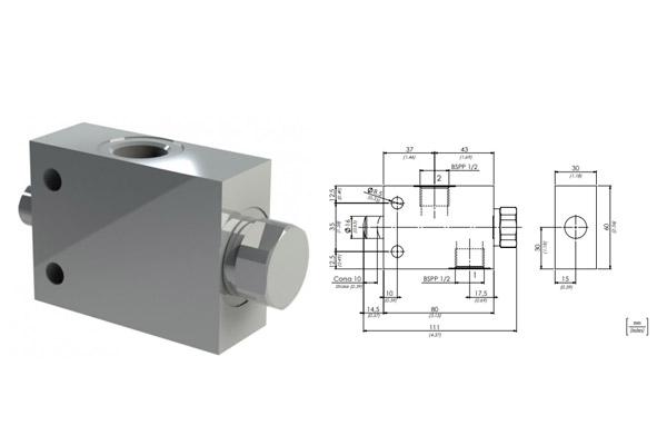 клапан fcm120n oleoweb - промснаб спб