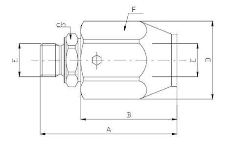 схема поворотной муфты GGIL Walvoil