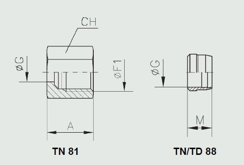 схема арматуры din2353 - промснаб спб